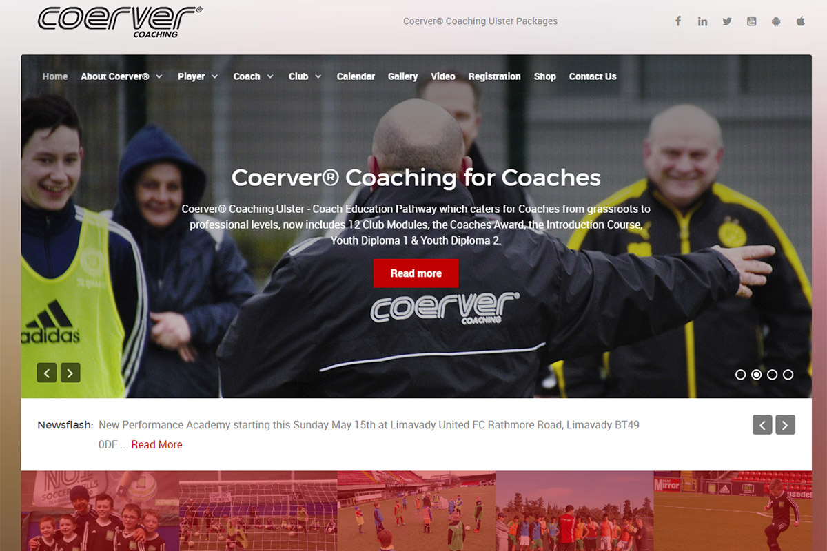We deliver a technical development programme for youth football players.