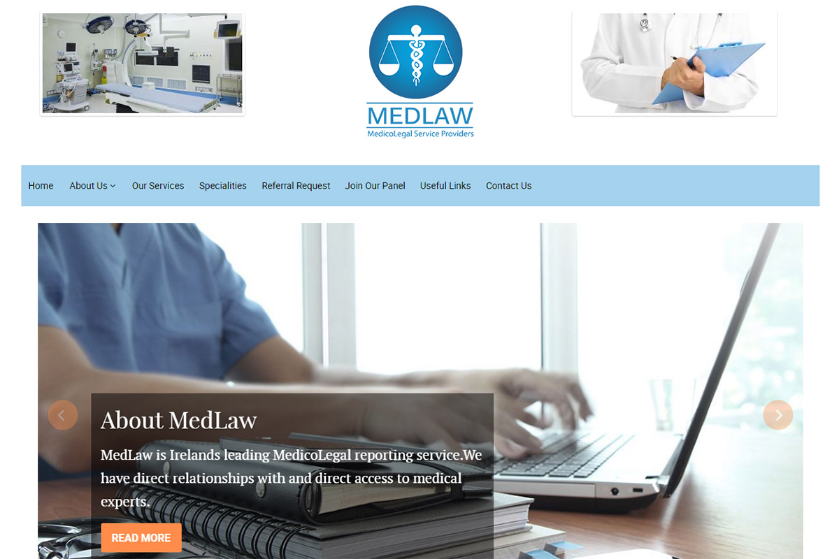 Medlaw is Ireland's leading Medicolegal reporting service.