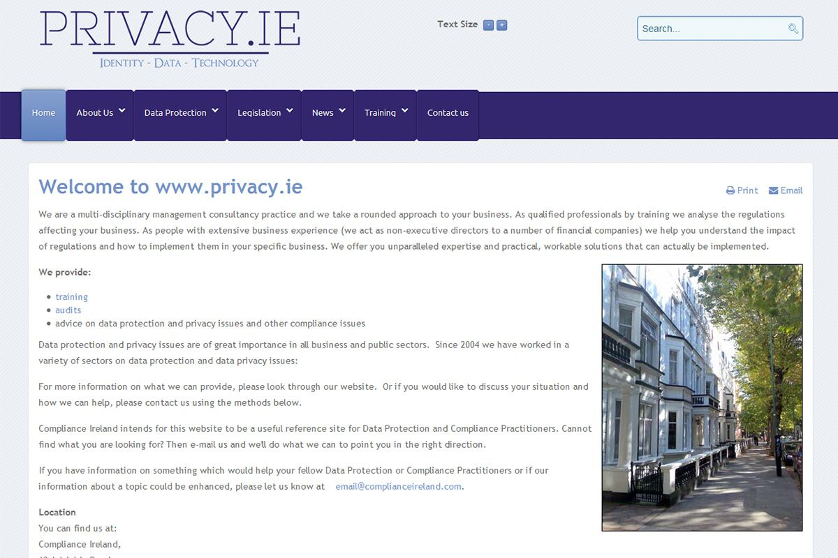 Privacy.ie - Identity, Data, Technology