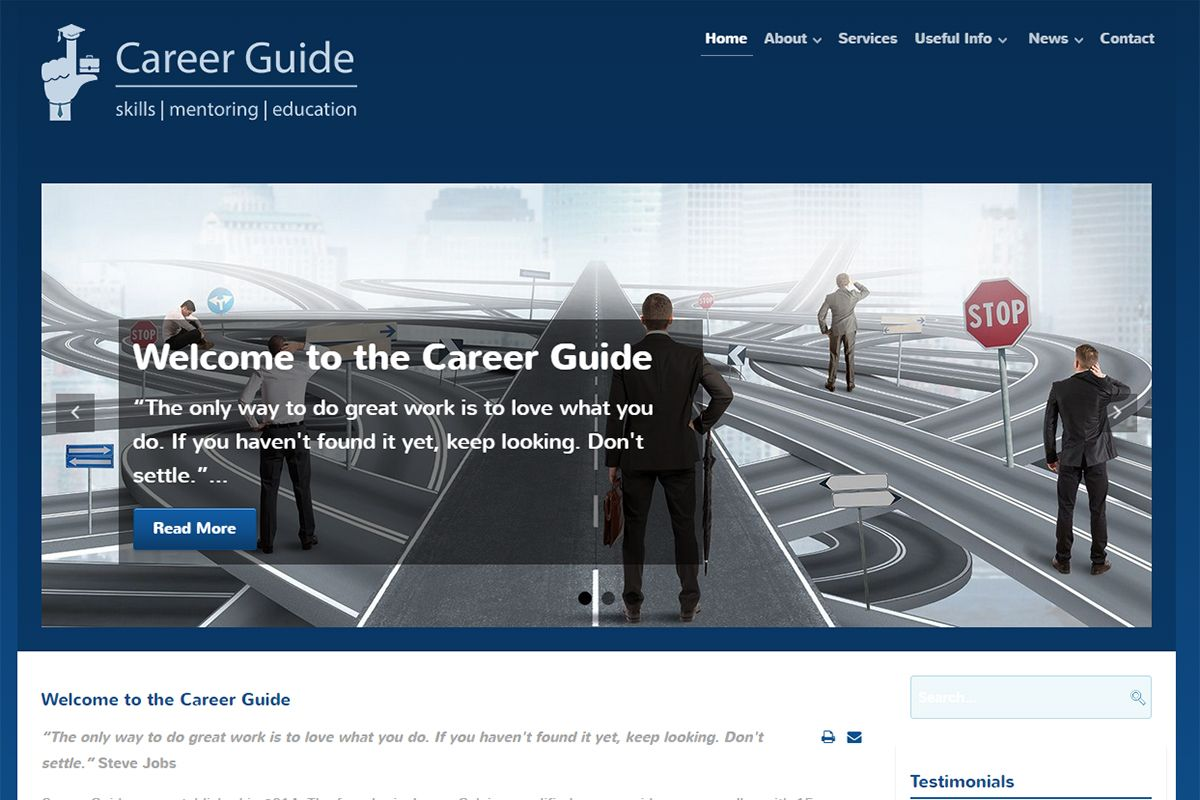 Career Guide - Skills, Mentoring, Education