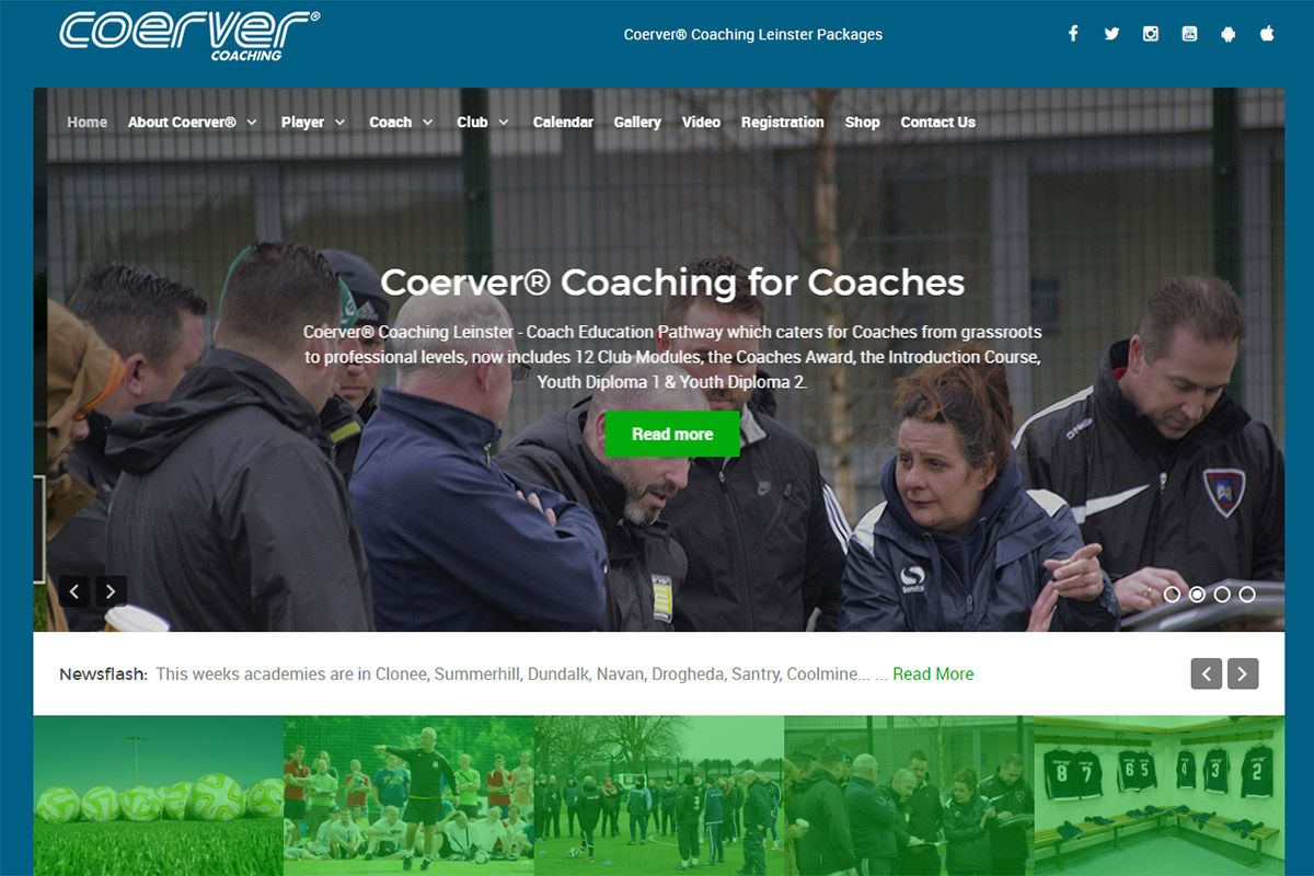 Coerver Coaching Leinster