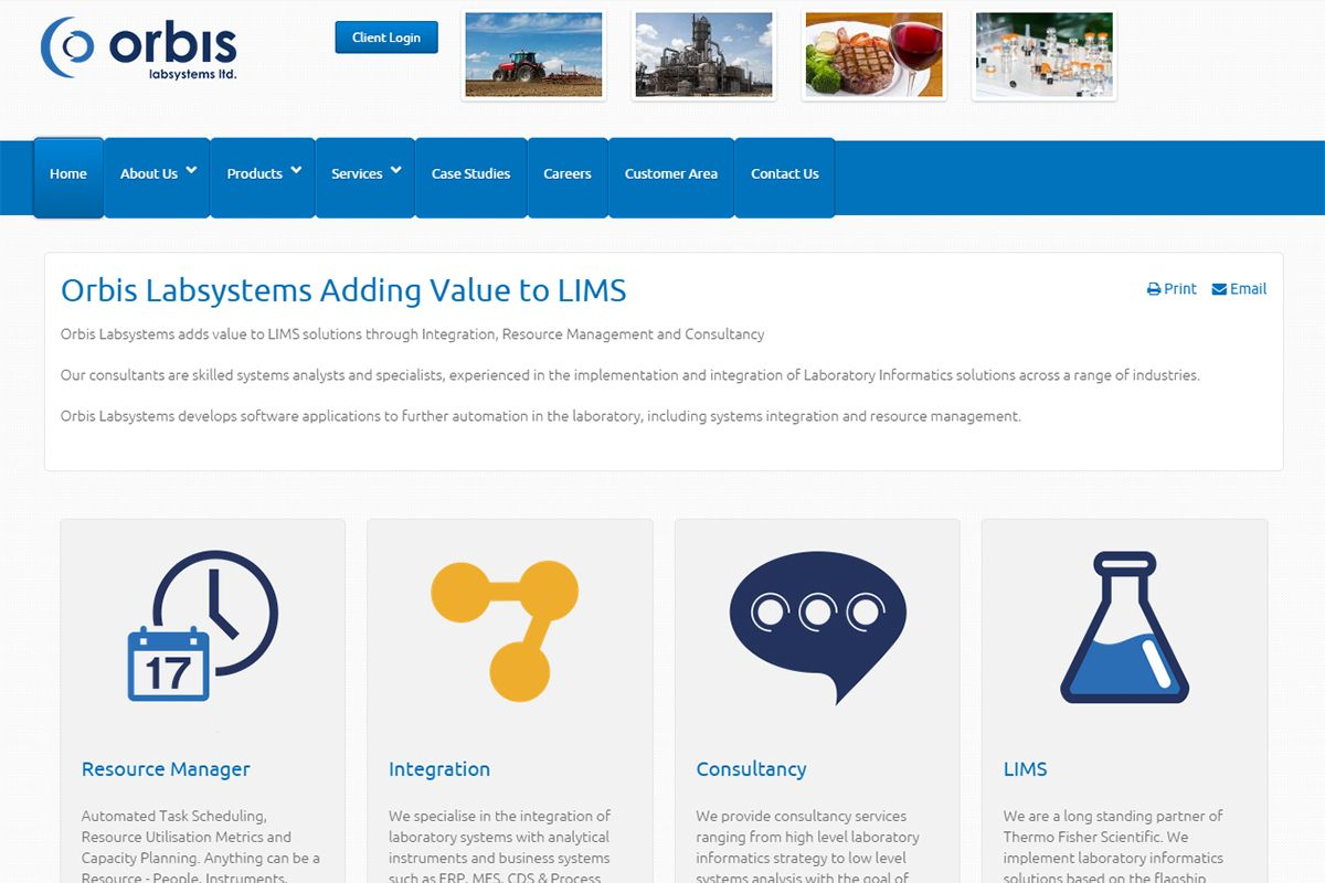 Orbis Lab Systems Ltd.
