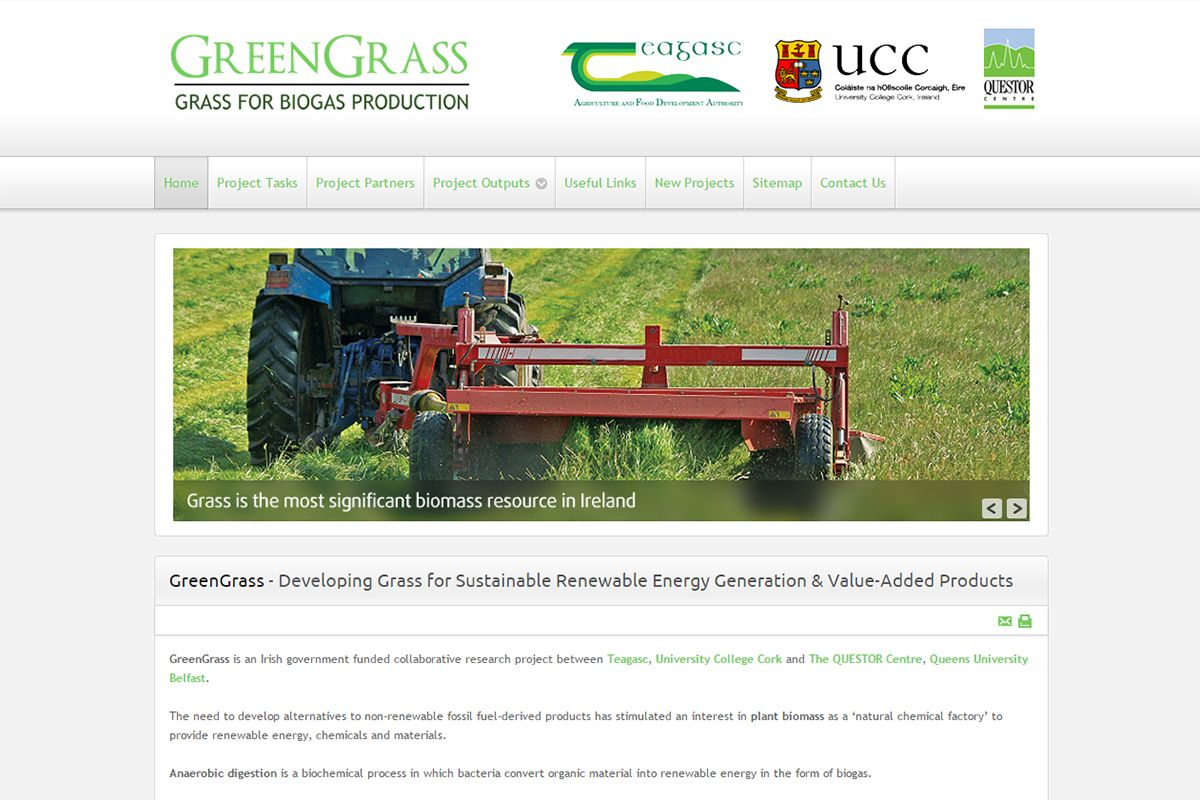 Green Grass - Grass for Biogas Production