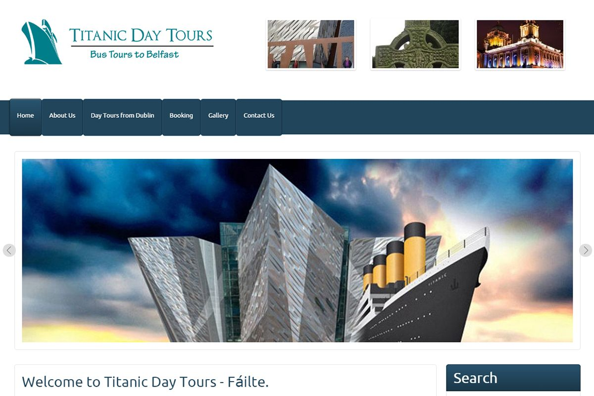 Titanic Day Tours - Bus Tours to Belfast