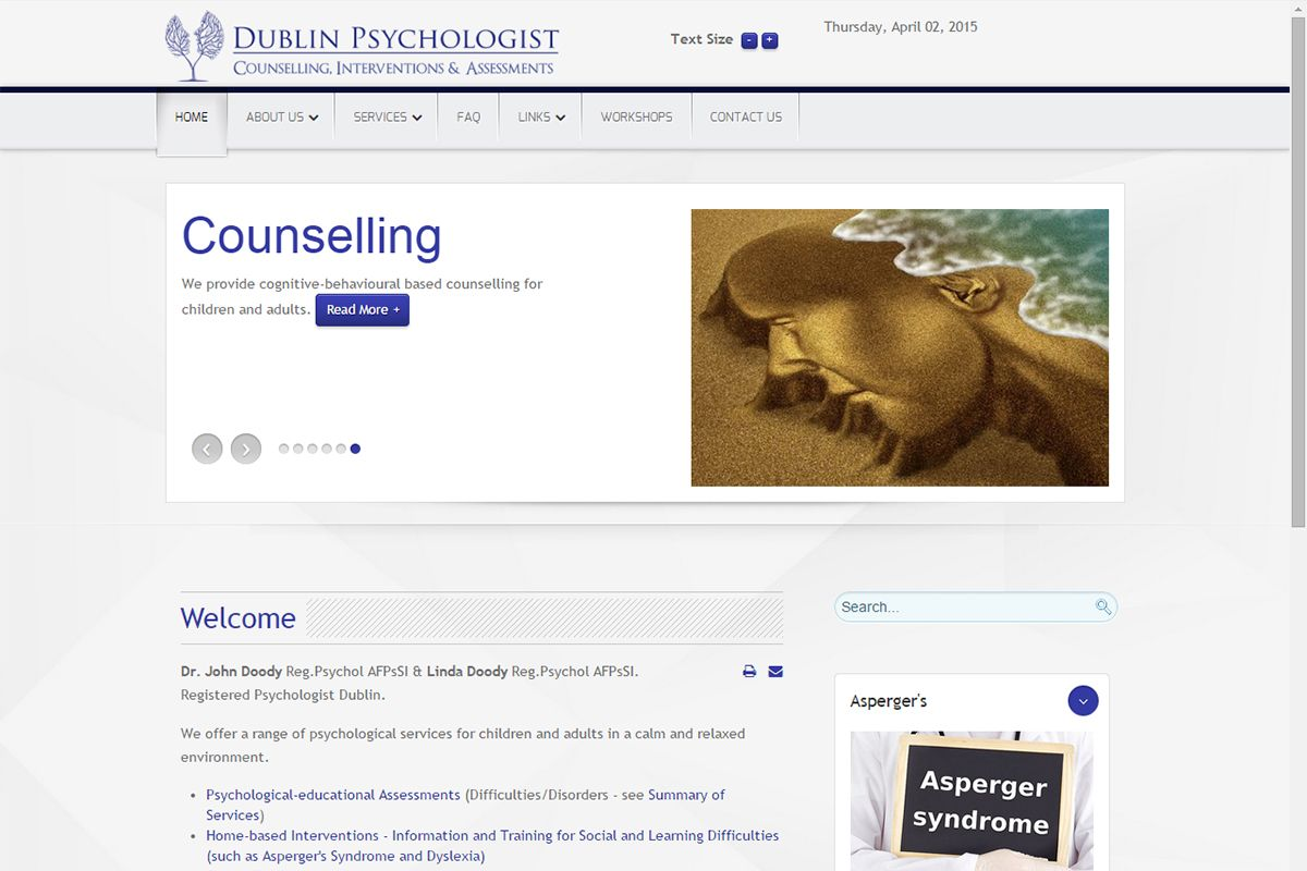 Dublin Psychologist - Counselling, Interventions & Assessments