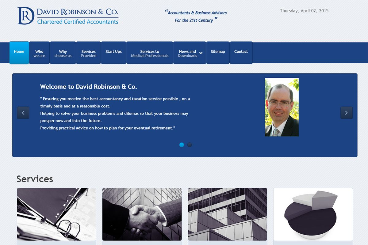David Robinson & Co - Chartered Certified Accountants