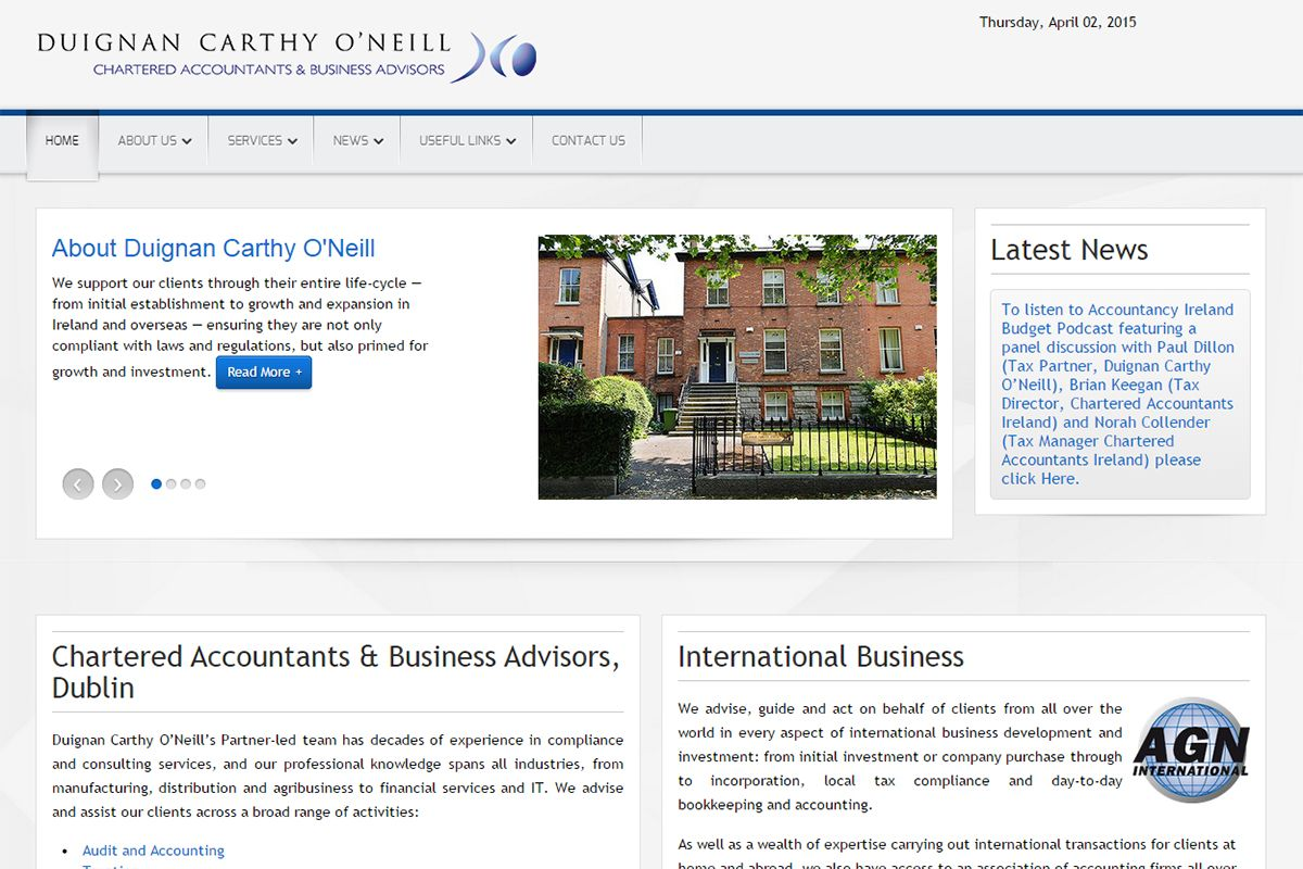 Duignan Carthy O' Neil - Chartered Accountants & Business Advisors